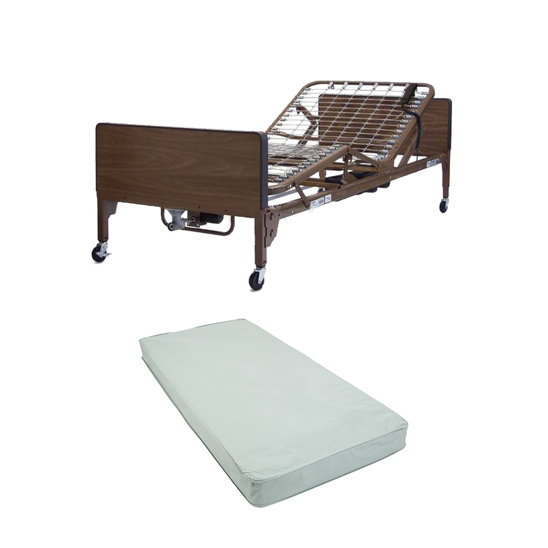 Full-Electric Hospital Bed (With Mattress & Rails) MONTHLY RENTAL