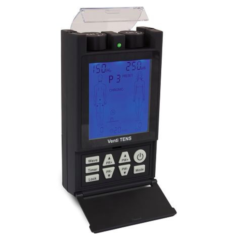 Venti TENS Deluxe Digital Pain Relief System W/20 Programmed Treatments