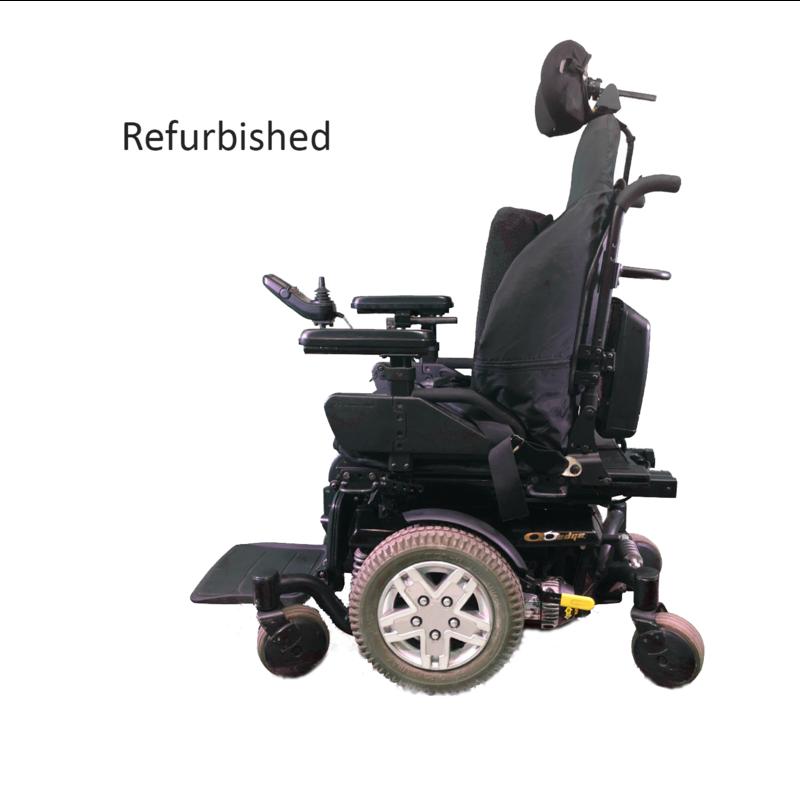 Pride Refurbished Pride Quantum Q6 Edge Power Wheelchair - Black