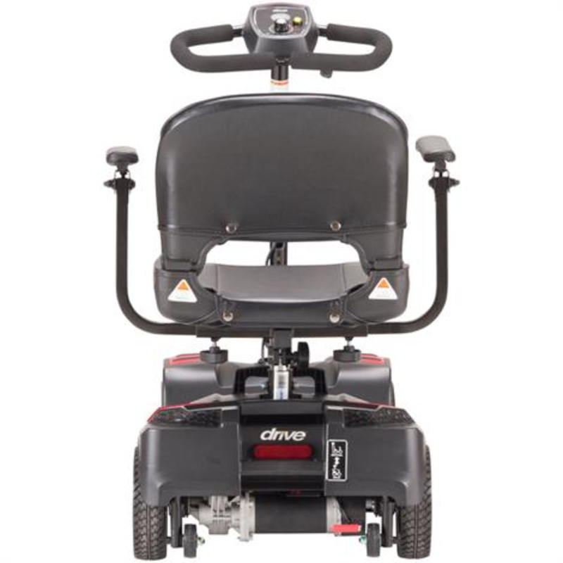 Drive Scout Compact Travel Power Scooter, 4 Wheel