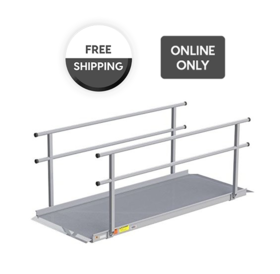 EZ-Access EZ-Access® Gateway™ Wheelchair Solid Surface Portable Ramp, 5ft