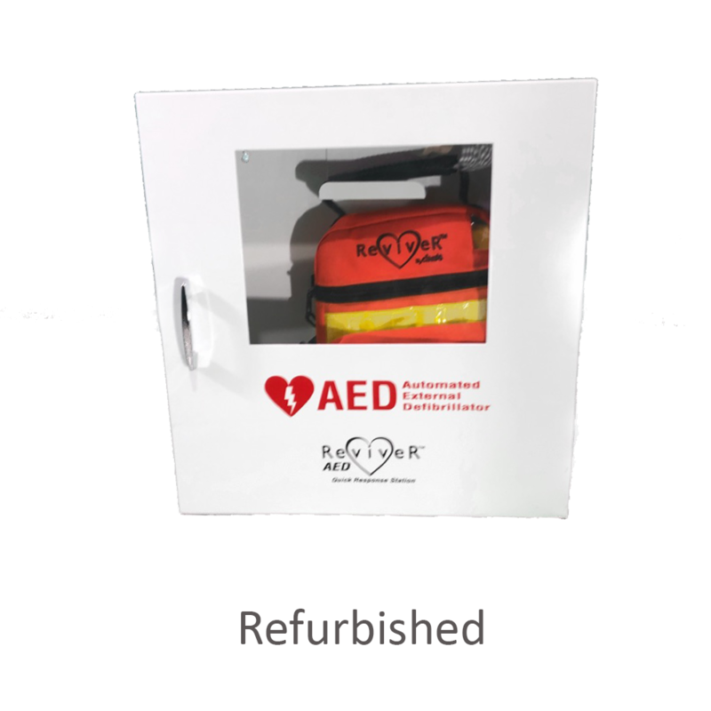 Cintas Refurbished Cintas AED Reviver Quick Response Station