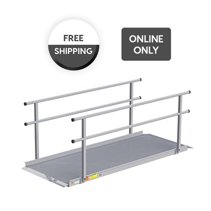 EZ-Access EZ-Access® Gateway™ Wheelchair Solid Surface Portable Ramp, 6ft