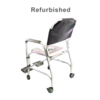Refurbished Drive Rolling Shower Chair with Commode Opening