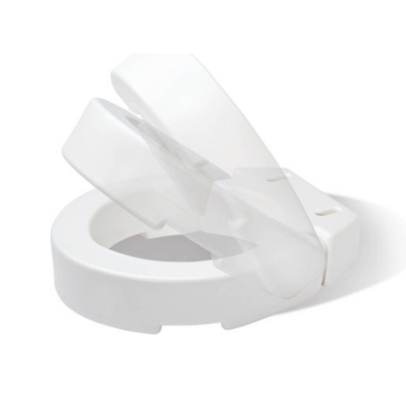 Carex Carex Standard Securable Hinged Toilet Seat Riser