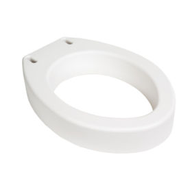 Refurbished Elongated Elevated Toilet Seats - Without Handles