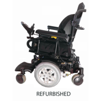 Refurbished Pride Quantum Q6 Edge - Black with Standard Seat