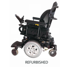 Refurbished Pride Quantum Q6 Edge - Black with Standard Seat
