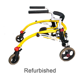 Refurbished Crocodile Reverse Walker with Seat Size 1