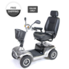 "Drive Medical Drive Prowler 3410 Luxury 4-Wheel Mobility Scooter, 22"" Captain's Seat"