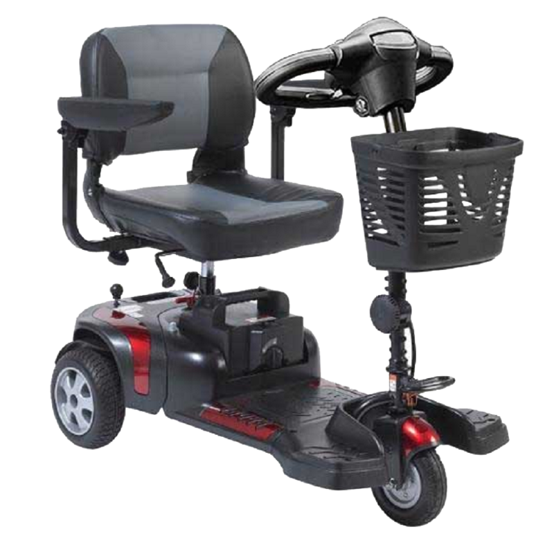 Drive Medical Drive Phoenix HD 3-Wheel Heavy-Duty Mobility Scooter