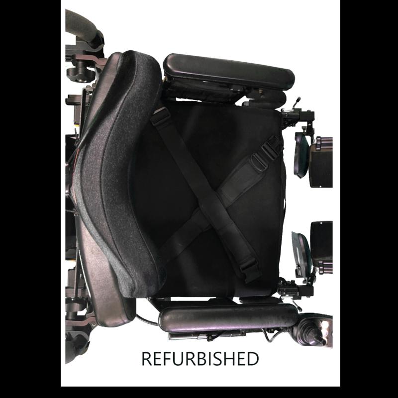 Refurbished Quantum Q6 Edge with leg rests