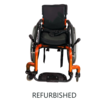 Refurbished Sunrise Zippie Pediatric Wheelchair Burnt Orange