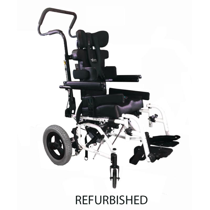 Refurbished Sunrise Medical Zippie TS Pediatric Tilting Wheelchair - White