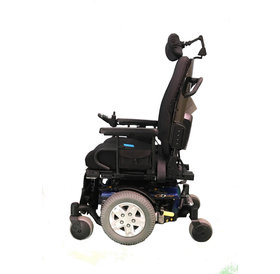 Refurbished Pride Mobility Quantum Q6 Edge - Dark Blue with Captain Seat