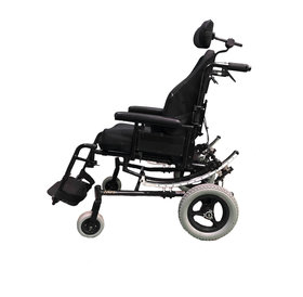 Refurbished Invacare Solara Tilt in Space Manual Wheelchair with Swing Away Leg Rests