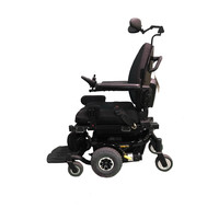 Refurbished Pride Mobility Quantum 610 Power Chair with additional Swing Away Leg Rests