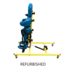 Tumble Forms Refurbished Tumble Forms Tristander 45 w/ Tray - Blue and Yellow