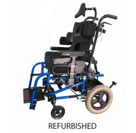 Refurbished Sunrise Medical Quickie Iris SE Pediatric Tilt in Space Manual Wheelchair