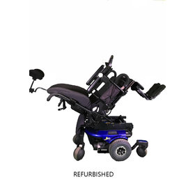 Refurbished Pride J6 Power Chair with Tilt - Needs Batteries