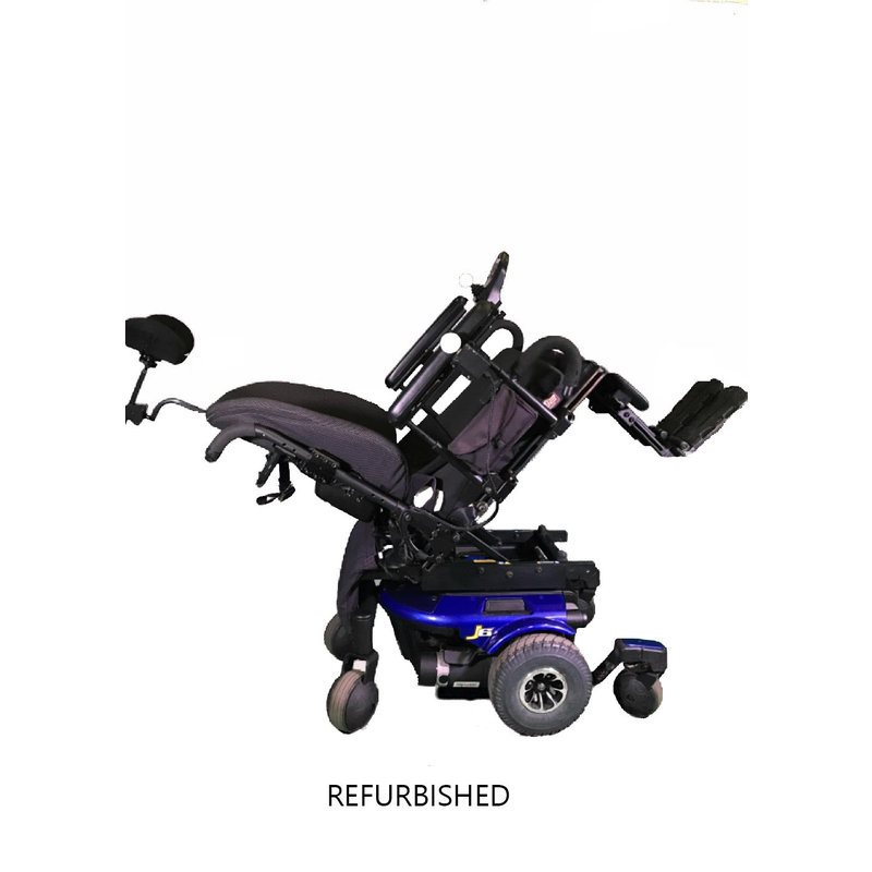 Refurbished Pride J6 Power Chair with Tilt - Blue