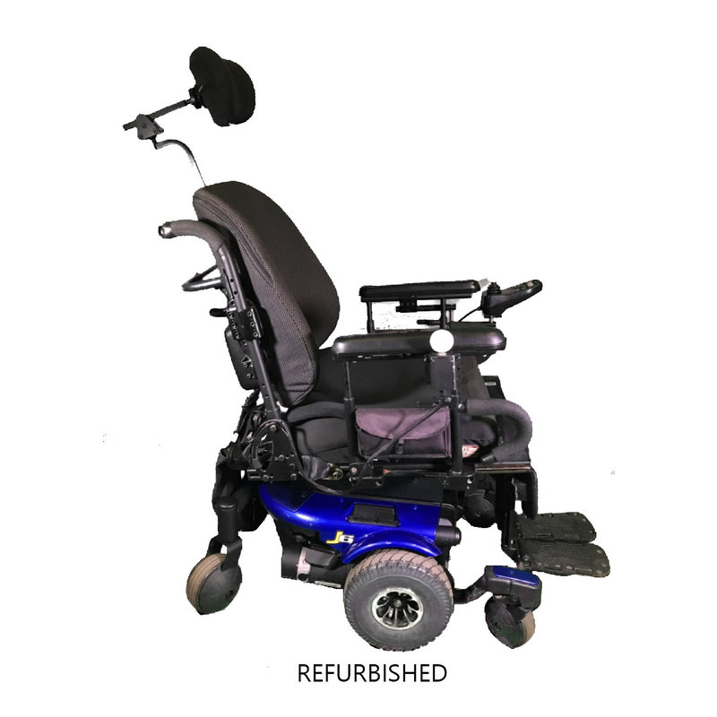 Refurbished Pride J6 Power Chair with Tilt - Working Batteries