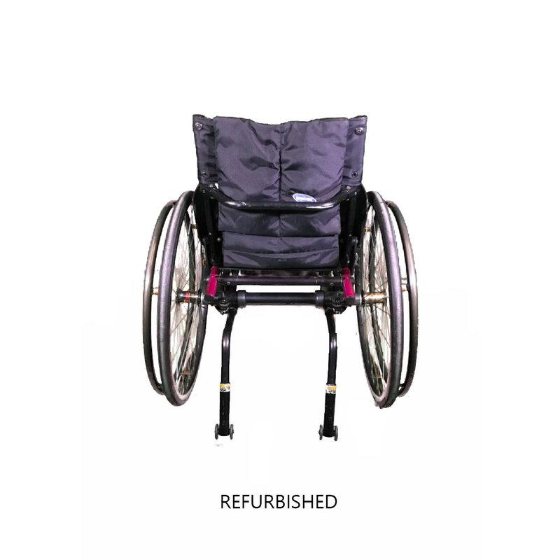 Refurbished Invacare Top End Terminator Jr Manual Wheelchair - pink