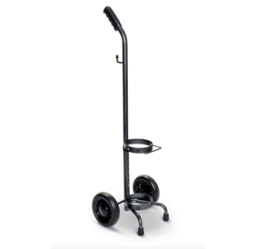 Refurbished Rolling 2 Wheel Oxygen Tank Cylinder Cart