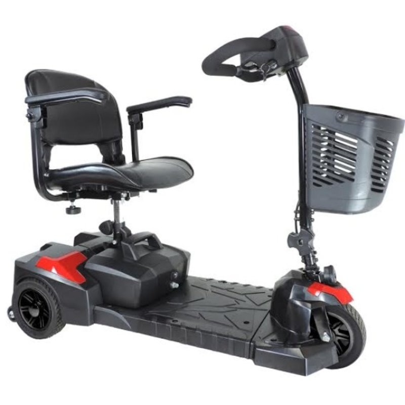Drive Medical Drive Scout Spitfire Portable Mobility Scooter, 3 Wheel