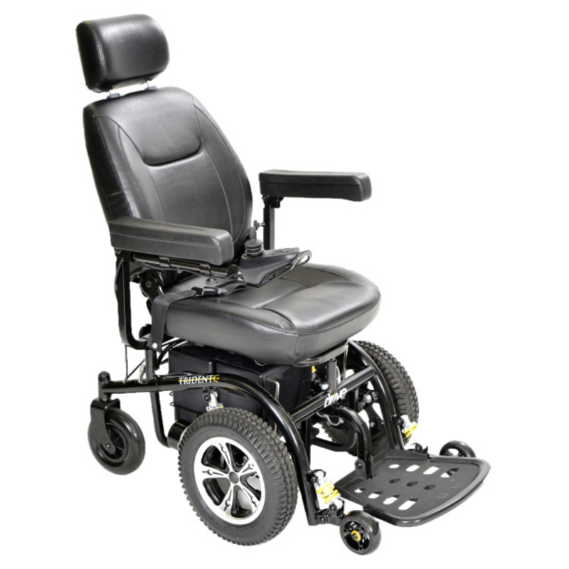 Drive Medical Trident Standard Power Wheelchair Front-Wheel Drive, 20""