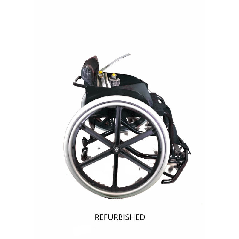 Refurbished Quickie Athletic Basketball Sports Wheelchair with seatbelt