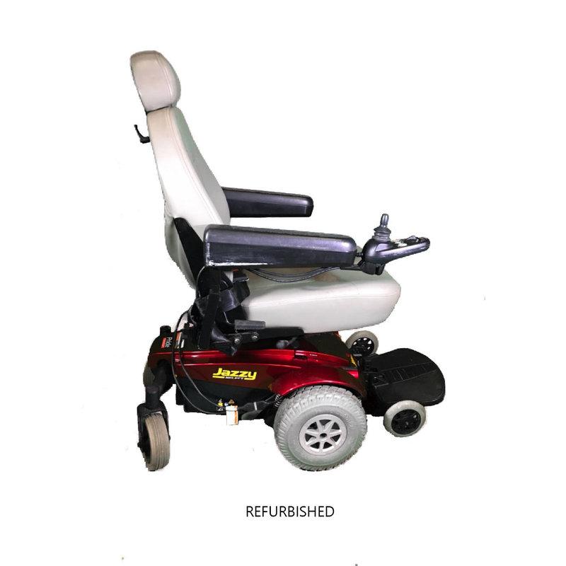 Refurbished Pride Jazzy Select Power Chair - Working Batteries