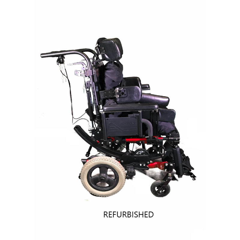 "Refurbished Pediatric Sunrise Medical Quickie Iris Tilt in Space Manual Wheelchair - 15"""