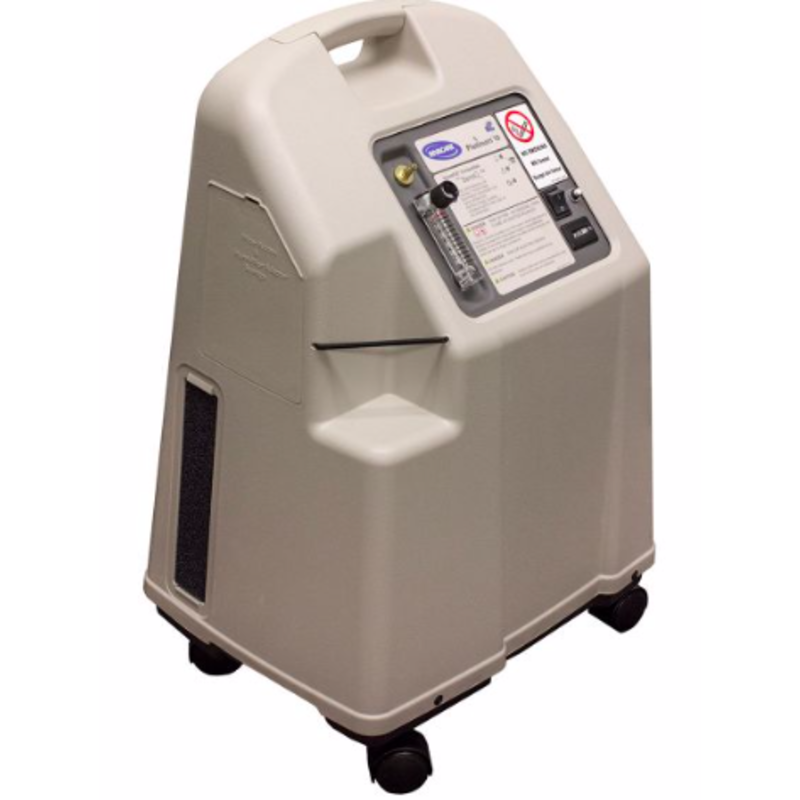 As Is Invacare Platinum XL HFII Oxygen Concentrator 10L