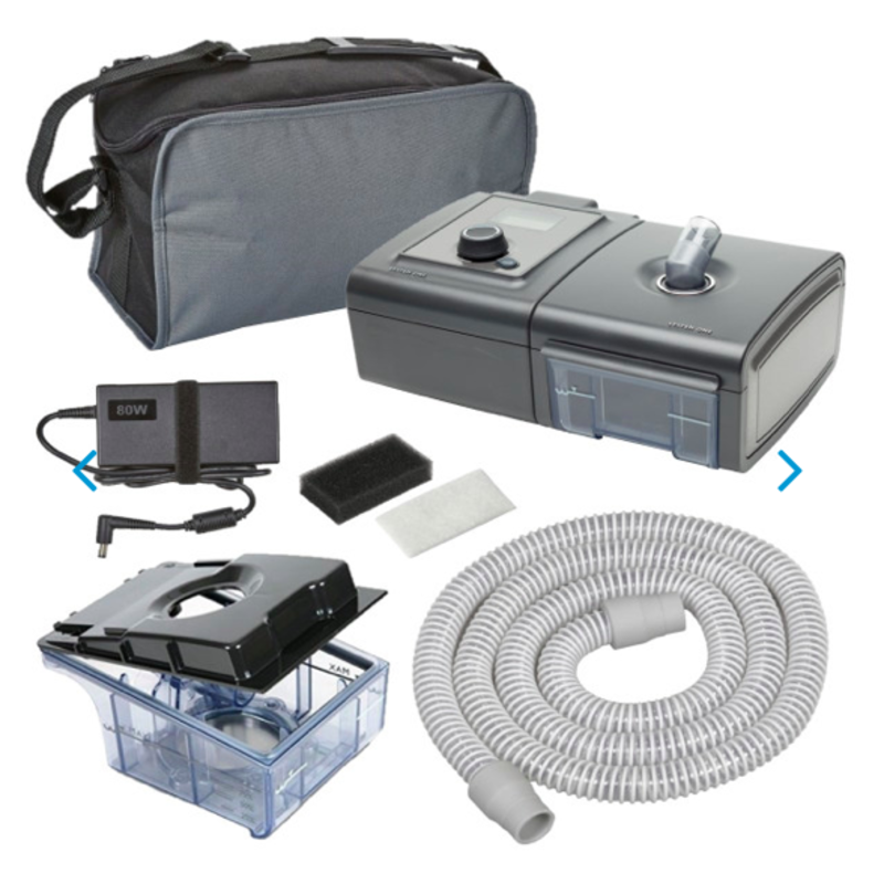 As Is Philips Respironics System One Auto CPAP A-Flex with Heated Humidifier - Includes SD Card