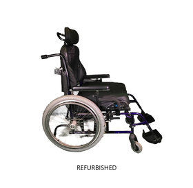 Refurbished Quickie M6 Bariatric Manual Wheelchair
