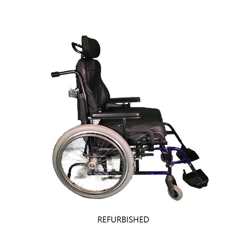 Refurbished Quickie M6 Bariatric Manual Wheelchair