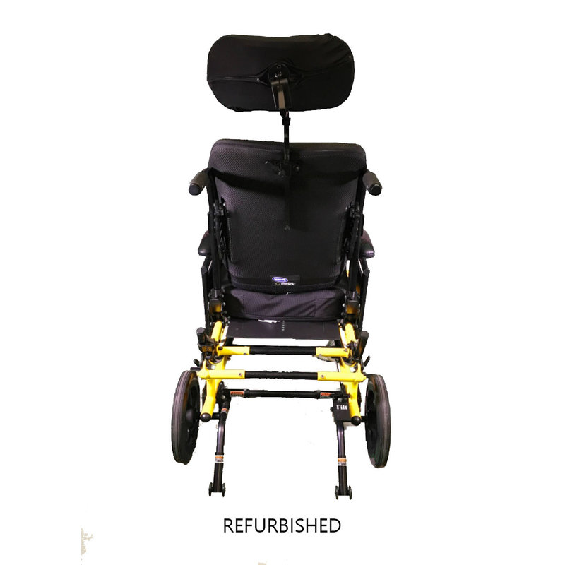Refurbished Invacare Tilt in Space Wheelchair - Yellow