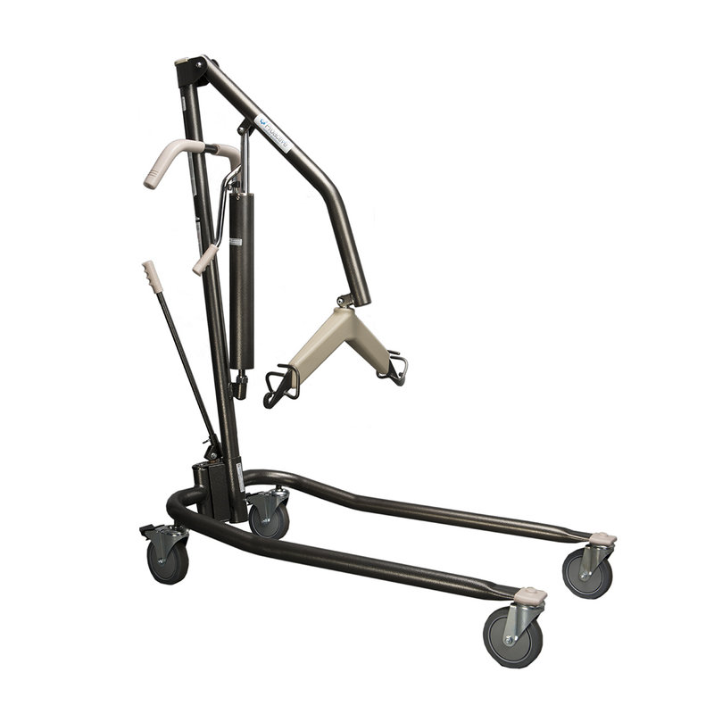 Proactive Proactive Onyx Hydraulic Patient Lift - Heavy Duty for Home Use, 450lbs Capactiy with Adjustable Base