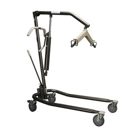 Proactive Proactive Onyx Hydraulic Patient Lift - Heavy Duty for Home Use, 450lbs Capacity with Adjustable Base