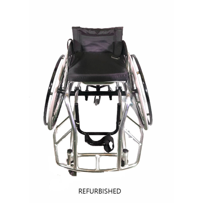 Refurbished Athletic Basketball Sports Wheelchair with seatbelt - Never Used