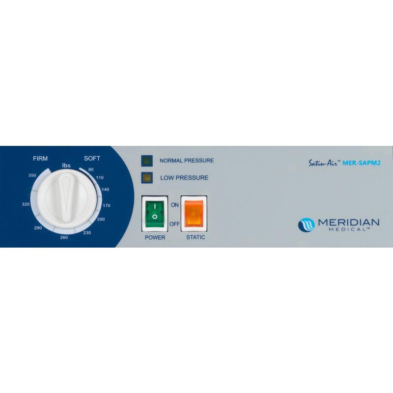 "ProBasics SatinAir 9 Alternating Pressure Air Mattress System w/ 8"" Air Cells and 8 LPM Pump"