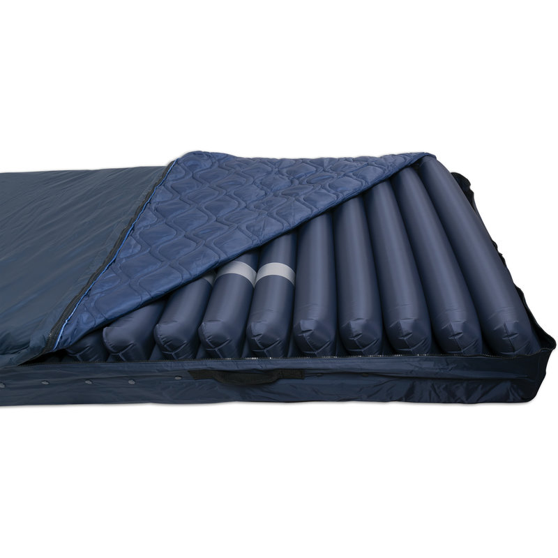 "ProBasics SatinAir 9 Alternating Pressure Air Mattress System w/ 8"" Air Cells and 8 LPM Pump"