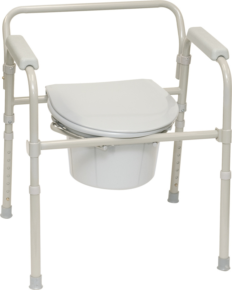 Probasics Folding 3 in 1 Commode