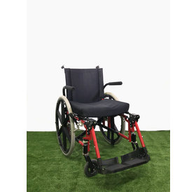 "Refurbished 19"" Sunrise Medical Quickie Manual Wheelchair with Fold-away Leg Rests"