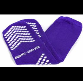 Refurbished McKesson Terries Slipper Socks Bariatric Extra Wide
