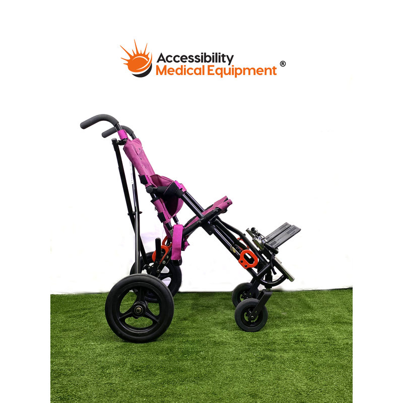 Refurbished Pediatric Convaid Cruiser Compact Fold and Positioning Wheelchair