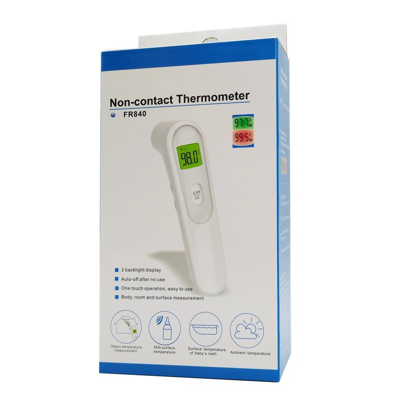Jiacom Non-Contact Infrared Thermometer FR840