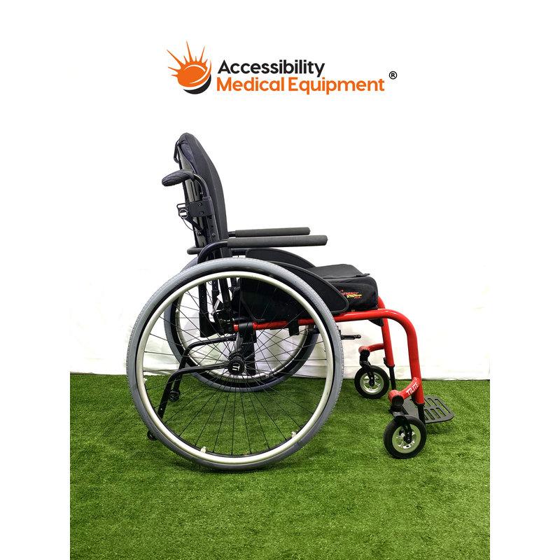 Refurbished TiLite Aero Z Rigid Frame Manual Wheelchair by Permobil