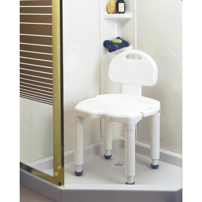 Carex Carex Universal Bath And Shower Seat with Back